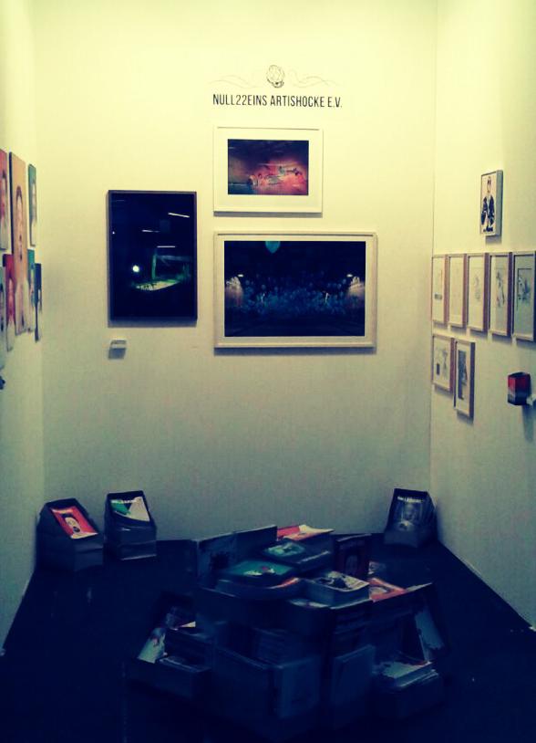 Artishocke/null22eins auf der Art.Fair 2014